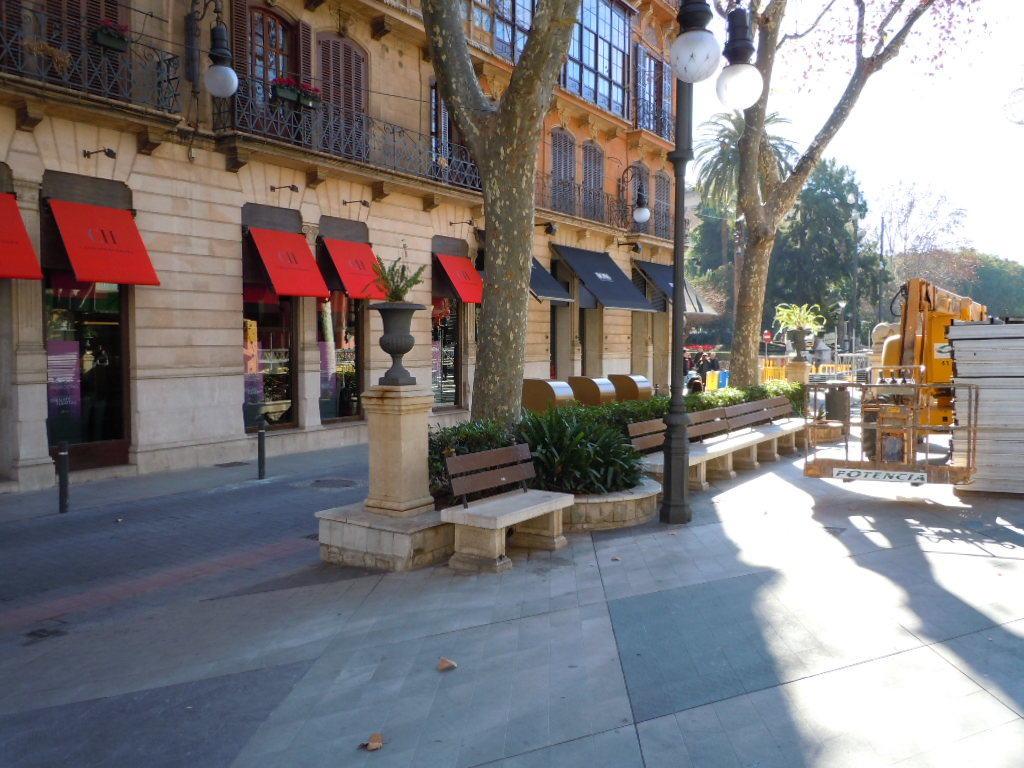 Små tecken på en ljusning i ekonomin för småbutiker i centrala Palma de Mallorca