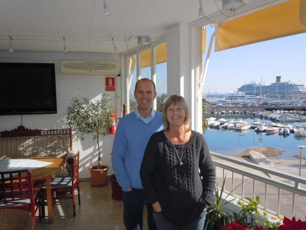 Intervju i Svenska kyrkan på Mallorca