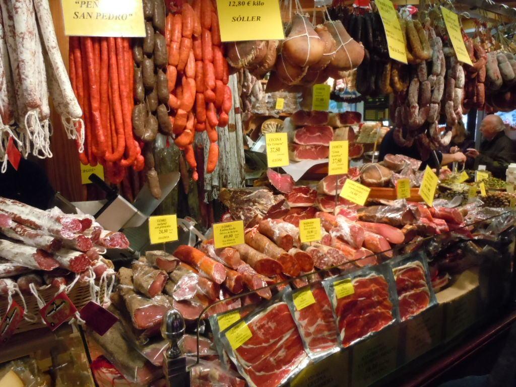 Mercat de L'Olivar – mat i alla färger