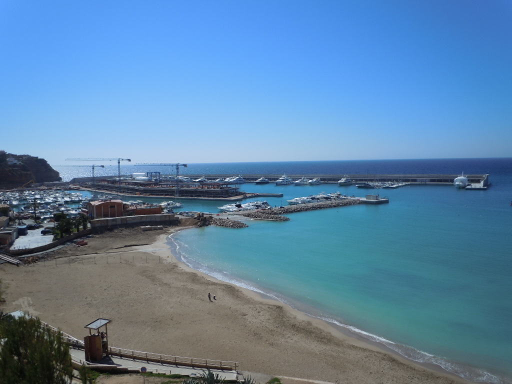 Bilder från nya marinan i Port Adriano