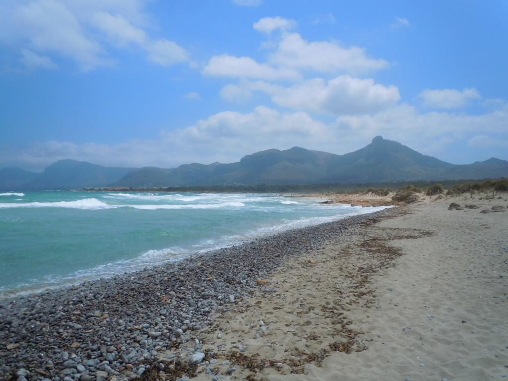 På playan i Son Serra de Marina