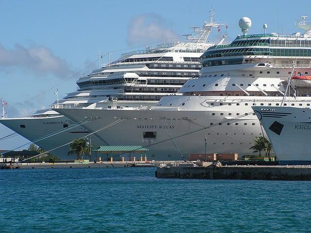 Större kryssningsfartyg till Mallorca