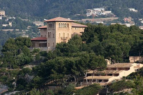 Kungen semestrar på Mallorca
