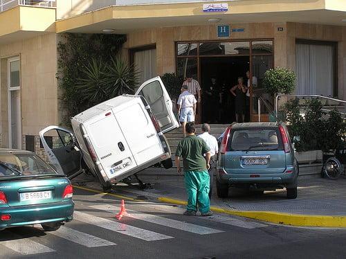 Krocka inte på Mallorca!