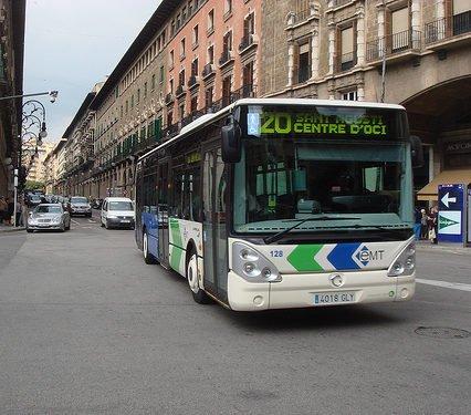 Bussbolaget i Palma har stora skulder