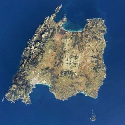 Mallorca – ur ett rymdperspektiv