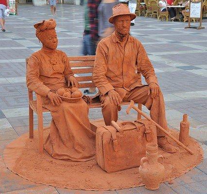 Färre turister till Mallorca i april
