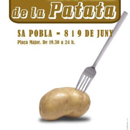 Potatisfestival i Sa Pobla 8-9 juni