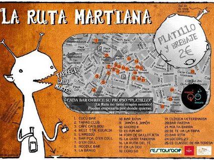 "Missa inte ""La Ruta Martiana"" i Palma"