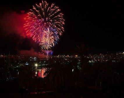 Inget fyrverkeri i Palma nästa år
