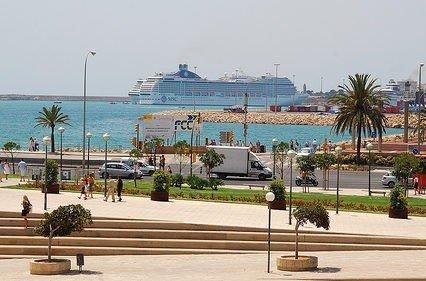 Färre kryssningsfartyg till Mallorca
