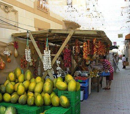 """""""Fira del Meló"""" i Vilafranca de Bonany"""