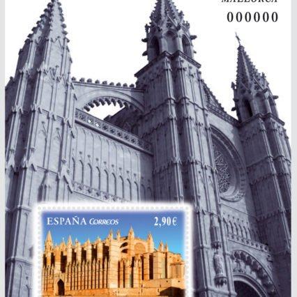 Frimärke med katedralen som motiv