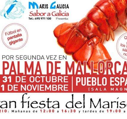 Skaldjur i Pueblo Español i Palma