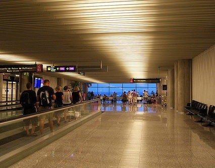 Flygtrafiken på Mallorca i oktober