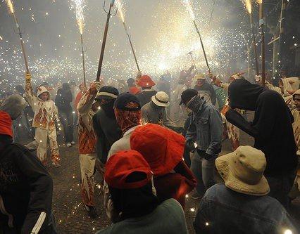 Sant Antoni firas i Sa Pobla i morgon