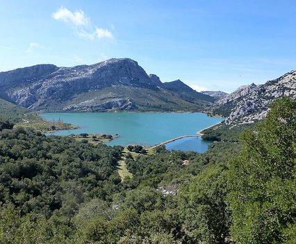 Vattenreservoarerna på Mallorca