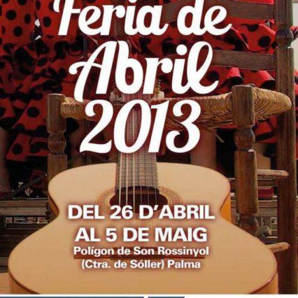 Feria de Abril i Palma 26 april – 5 maj