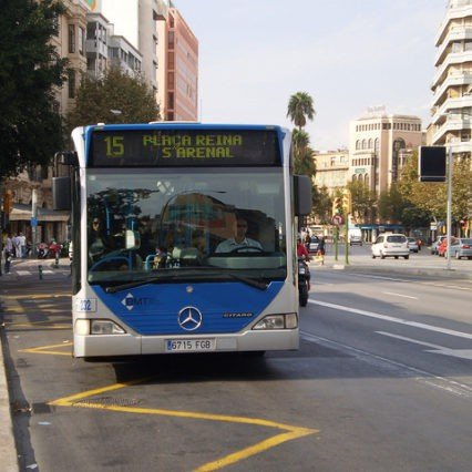 Bussarna i Palma i din smartphone