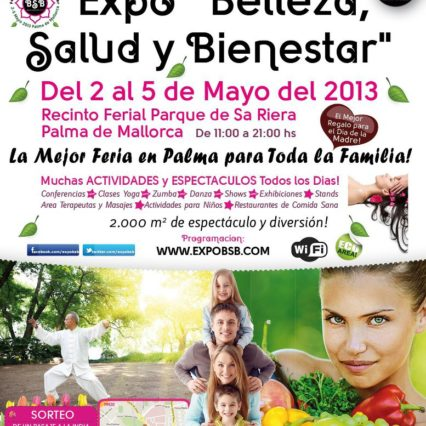 Hälsa och skönhet i Palma 2-5 maj