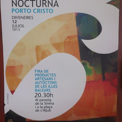 Fira Nocturna i Porto Cristo i kväll