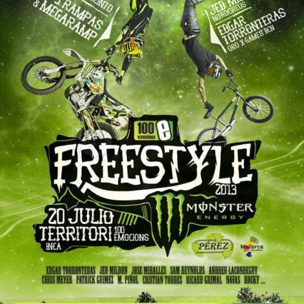 Freestyle Monster i Inca 20 juli