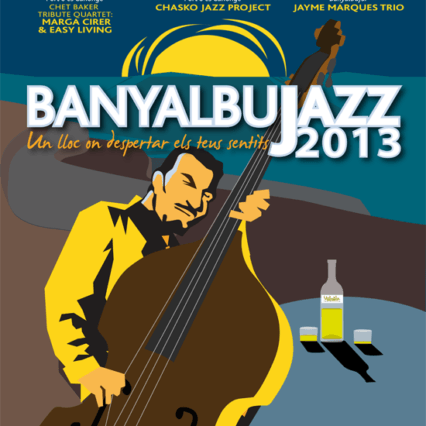 Jazz i Port d'es Canonge i kväll