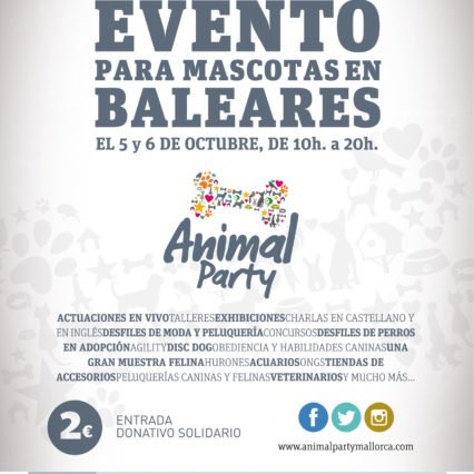 Animal Party Mallorca 5-6 oktober