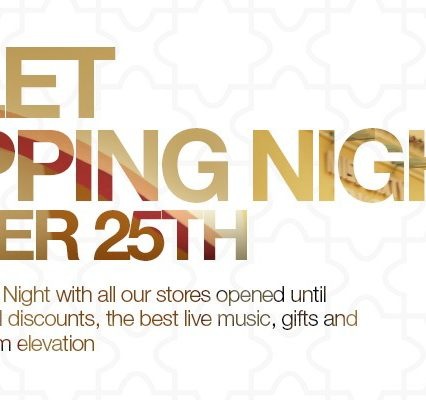 Outlet Shopping Night 25 oktober
