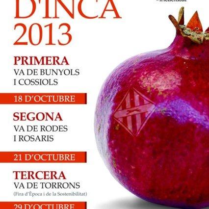 Fira d'època i Inca 1-3 november