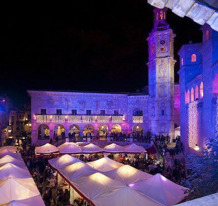 Julmarknaden i Pueblo Español