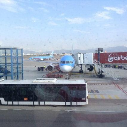 Flygtrafiken på Mallorca – december