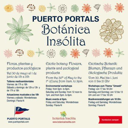Botánica Insólita i Puerto Portals