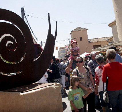 Fira del Caragol i Sant Jordi i helgen