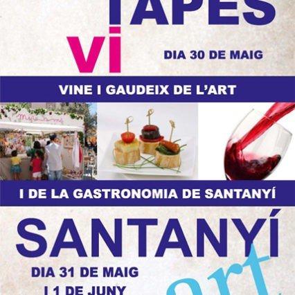 Konst, tapas och vin i Santanyí