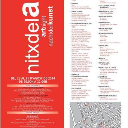 Nitxdelart 2014 i Felanitx på fredag