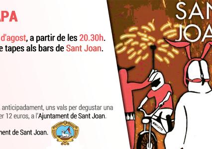 CorreTAPA i Sant Joan i kväll fredag