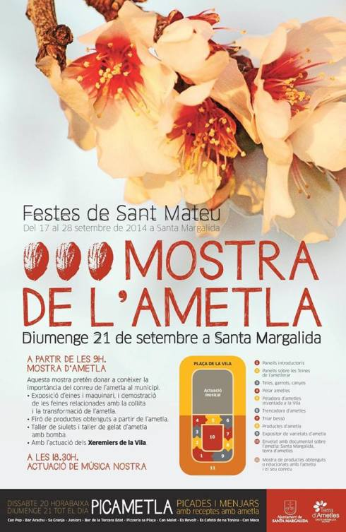 På lördag kväll och på söndag (20-21 september) är det festligheter i Santa Margalida