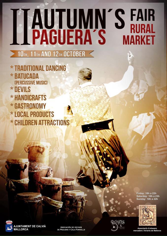 I dag inleds II Fira de Tardor (10-12 oktober) i Peguera - pågår fram till och med söndag