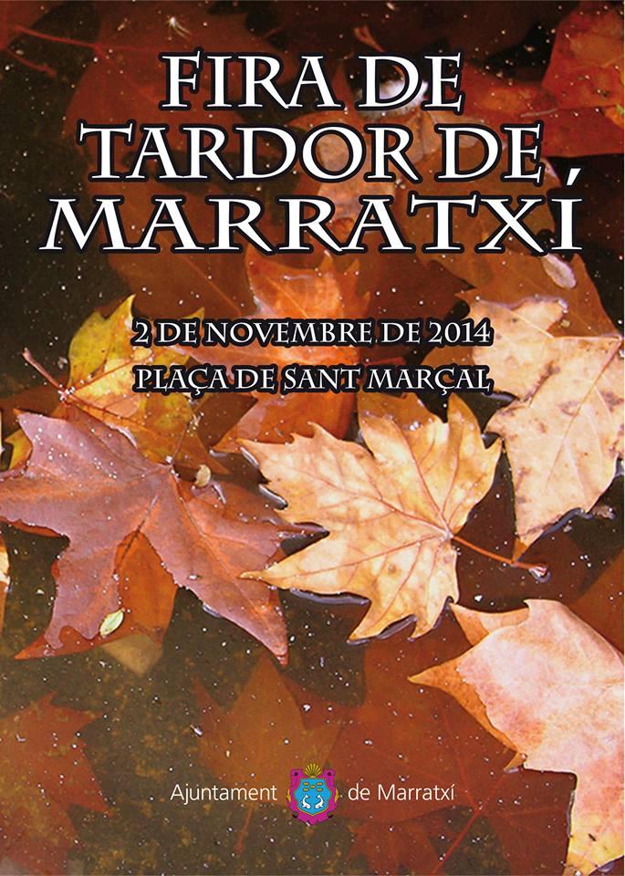 Nu på söndag (2 november) är det stor höstmarknad i Marratxí