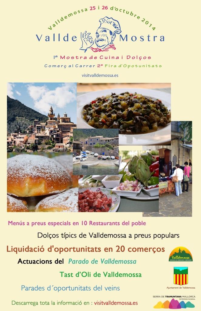 Nu i helgen (25-26 oktober) är det dags för ValldeMostra i Valldemossa