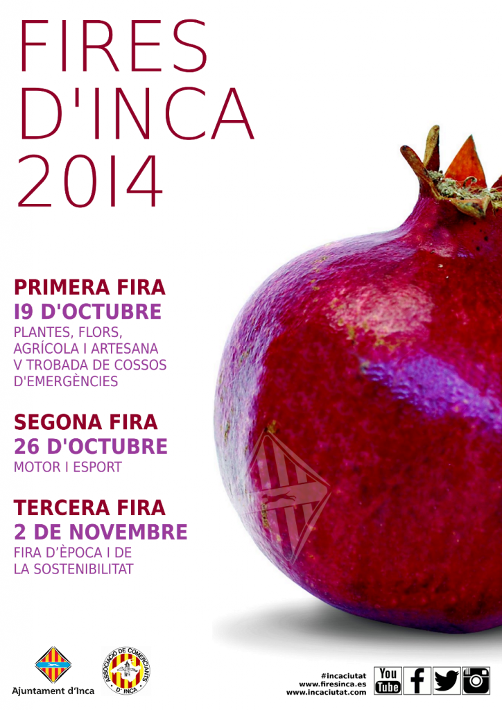 På söndag (26 oktober) är det dags för Segona Fira d'Inca - med bl.a. lyxiga tapas
