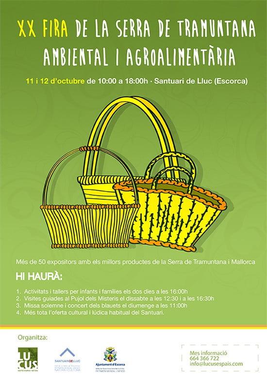 Nu i helgen (11-12 oktober) är det dags för XX Fira de la Serra de Tramuntana