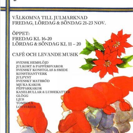 Julmarknad i Svenska kyrkan i helgen