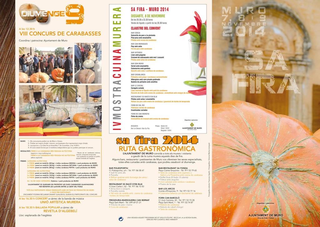 I dag och i helgen (7-9 november) är det höstmarknad i vackra Muro