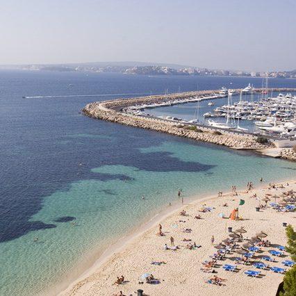 Mest folk på Mallorca den 7:e augusti