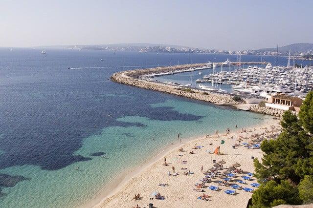 Den 7:e augusti var det trångt på Balearerna - 1.929.985 befann sig samtidigt på någon av öarna