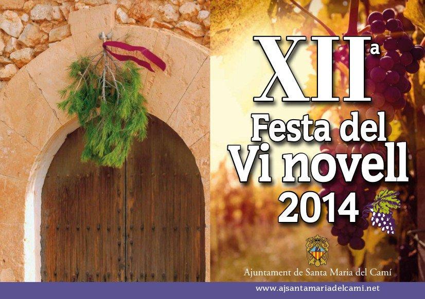 Nu i helgen (27-29 november) är det dags för XII Festa del Vi novell i Santa Maria