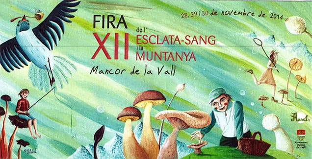 I helgen (28-30) november är det dags för Fira de l'Esclata-sang i Mancor de la Vall