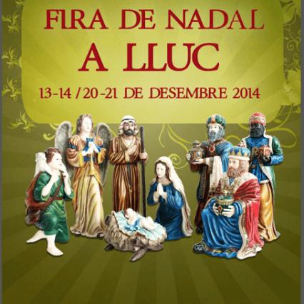 Julmarknad vid Santuari de Lluc i helgen